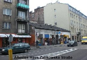 Praga Zabkowska Altes Haus