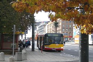 Bus in Warschau