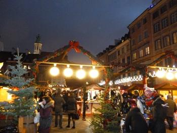 Weihnachtsmarkt Warschau