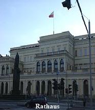 Warschauer Rathaus - Sehenswürdigkeit