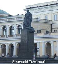 Juliusz Slowacki Denkmal