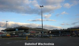 Bahnhof Wschodnia Warschau