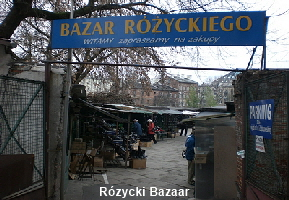 Rozycki Bazaar Warschau