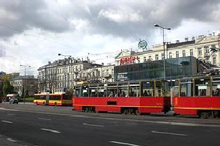 Trambahnen in Warschau