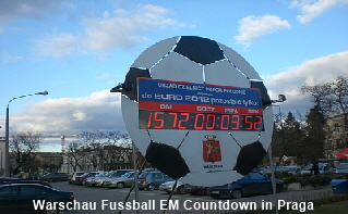Warschau Fussball EM 2012
