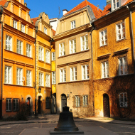 Glocke in der Warschauer Altstadt