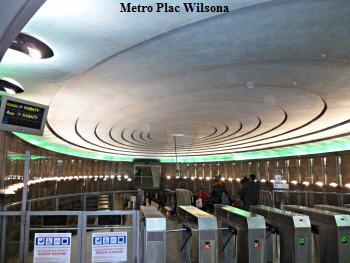 Metrostation Plac Wilsona