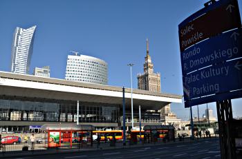 Hauptbahnhof in Warschau