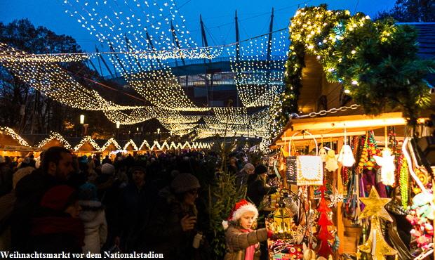 Weihnachtsmarkt am Nationalstadion